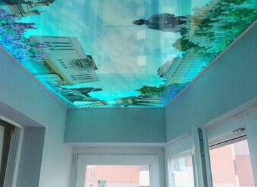 3D натяжной потолок <br>5,9 м²