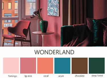 Коллекция фактур <br>Wonderland