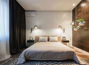 Тканевый потолок Clipso в спальне