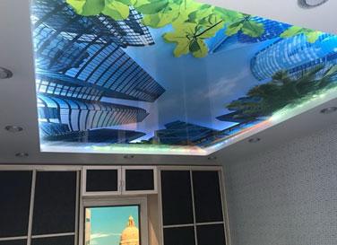 3D натяжной потолок <br>4,5м²