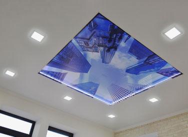 3D натяжной потолок <br>2,3 м²