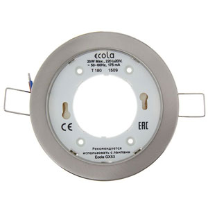 Светильник Ecola (металл) <br>без лампы