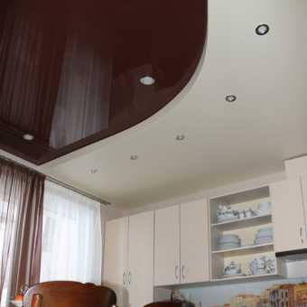 Двухуровневый потолок в квартире