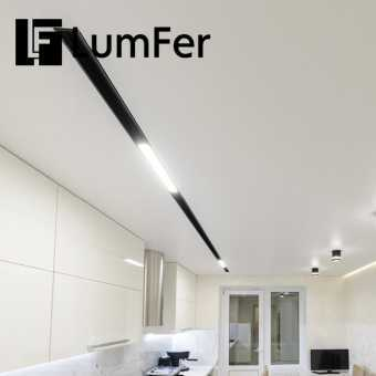 Белая ниша Lumfer в гостиной