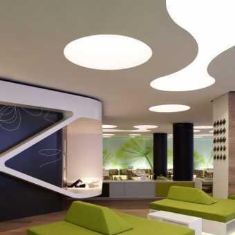 Световой потолок New Vision сложной формы