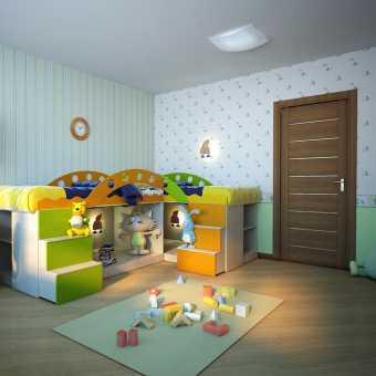 Тканевые потолки Cerutti  в детской