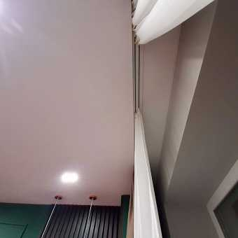Карниз в натяжном потолке