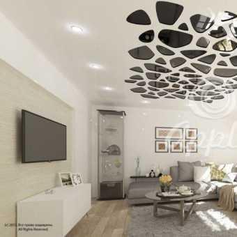Резной потолок Apply жираф - проект потолка
