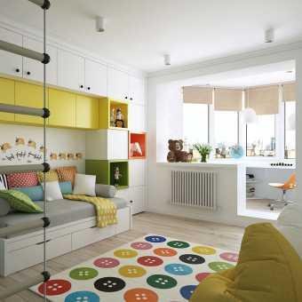 Тканевый потолок Descor в детской
