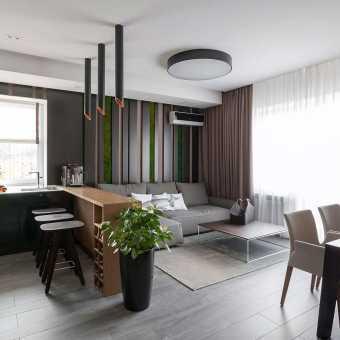 Тканевый потолок Descor в современном дизайне интерьера