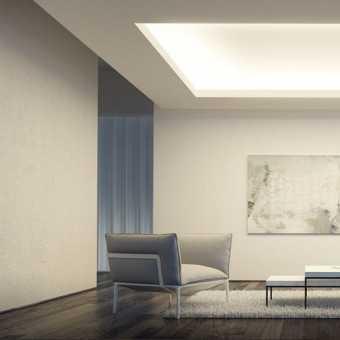 Световой потолок New Vision в гостиной