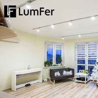 Белая ниша Lumfer  в комнате