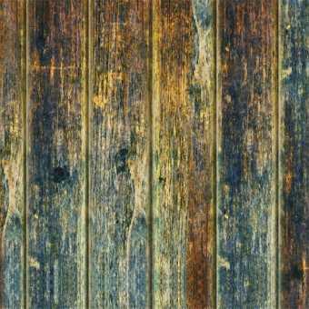 Полотно для натяжных потолков Tension Loft. Фактура состаренное натуральное дерево голубое