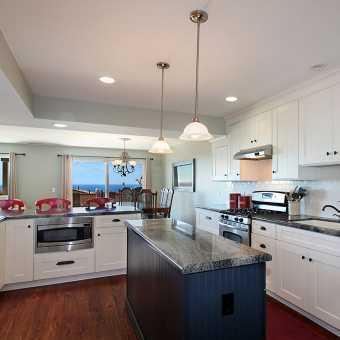 Тканевый потолок Clipso в кухне