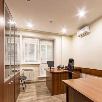 Натяжной потолок Натяжные потолки TEQTUM в офисе