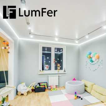 Белая ниша Lumfer в детской